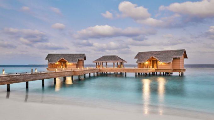 Les bungalows du Joali hôtel