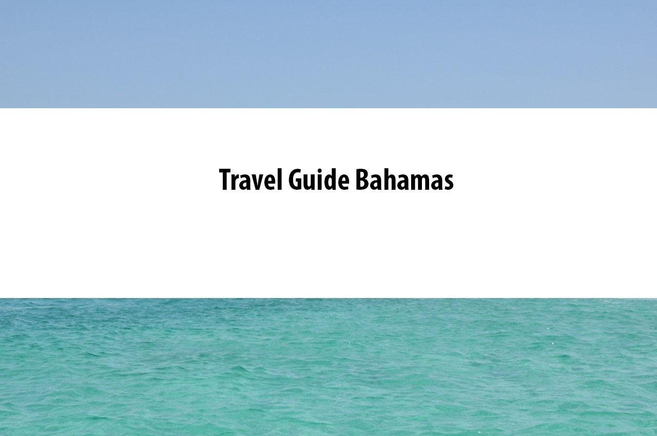 Travel Guide Bahamas-pinterest