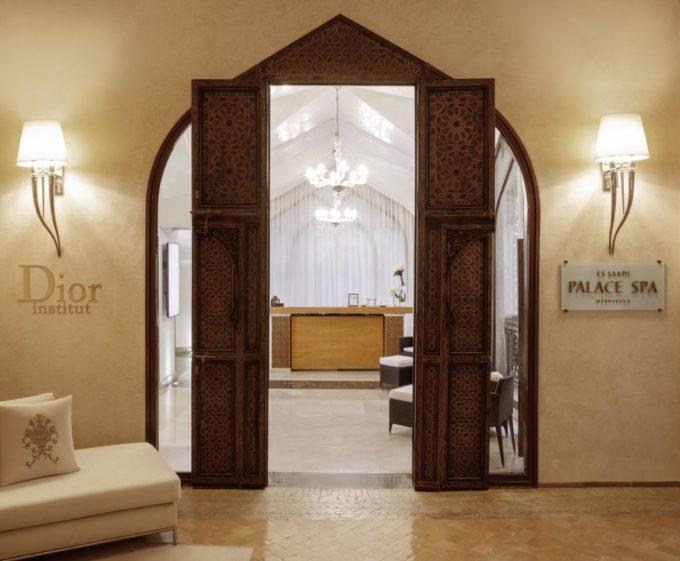 L'entrée du spa Dior