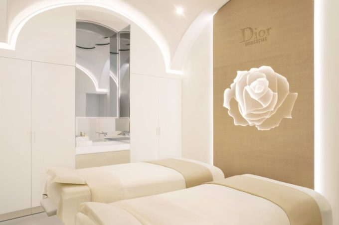 Massage en tandem au Dior Institute