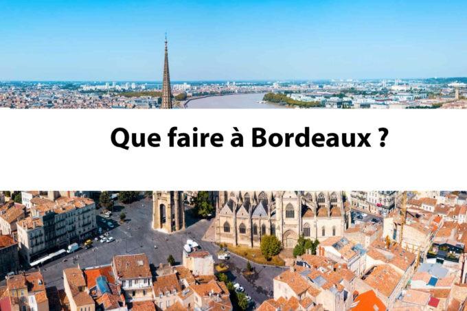 Que faire à Bordeaux pinterest