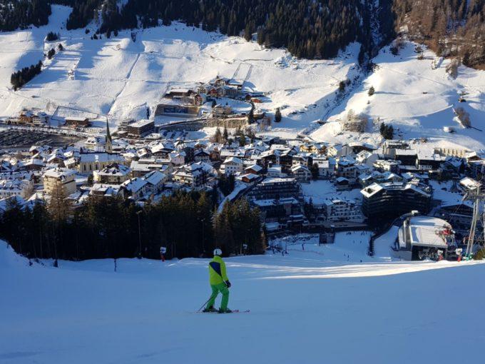 La station de ski de Ischgl