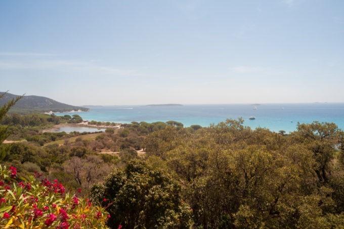 Une des plages somptueuses de la Corse du Sud