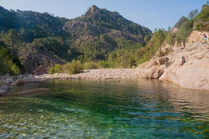 Une des criques Corse du Sud