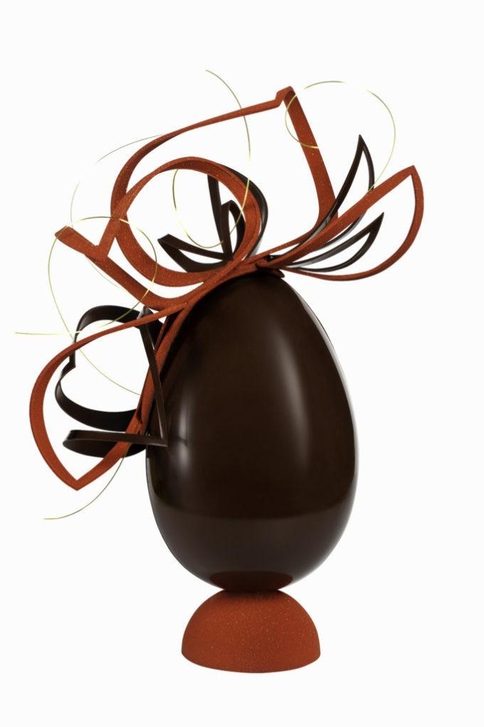 Le Burgundy interprète le chocolat de Pâques
