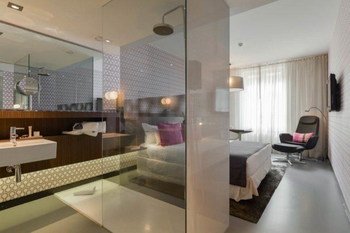 L'espace de la salle de bain