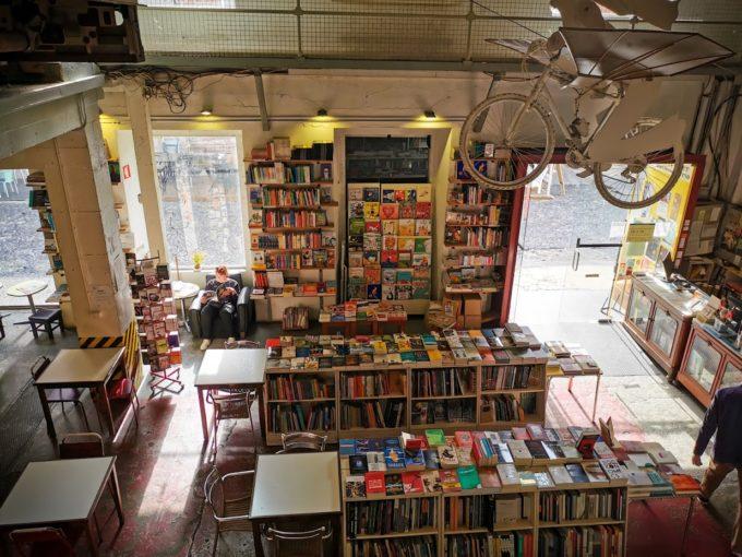 La fameuse librairie de LX Factory