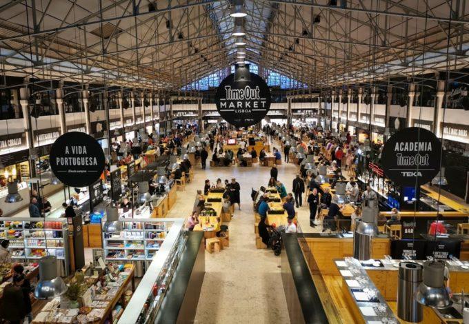 Le food market de Lisbonne