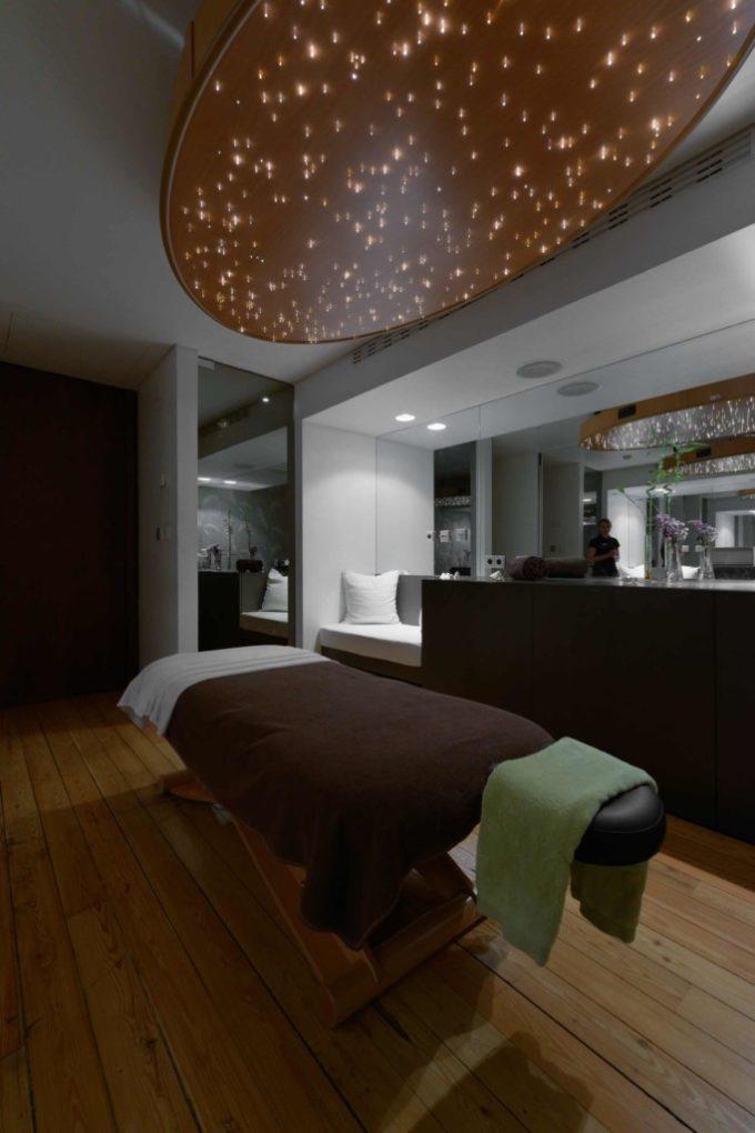 Une des cabines de soin du Inspira Santa Marta hôtel