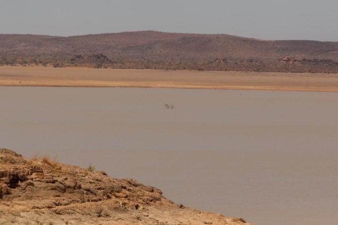 Une réserve d'eau géante