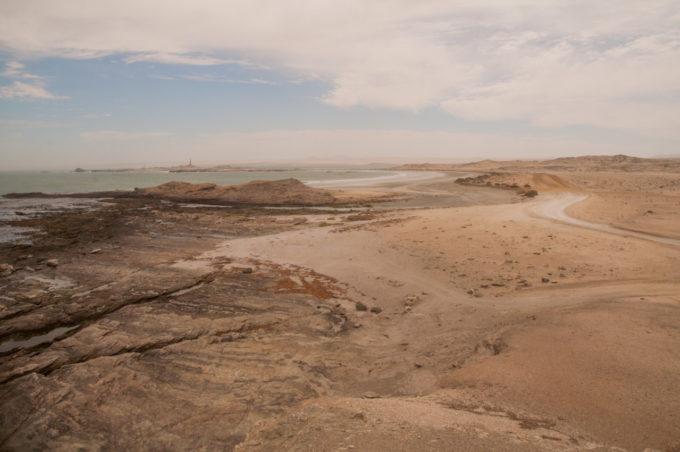 Le paysage est splendide près de la côte