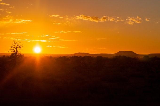 Quand le soleil se lève