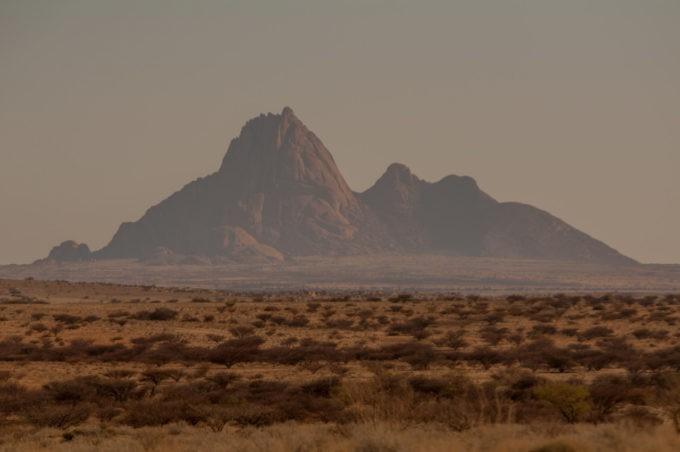 Le Mont Spitzkoppe