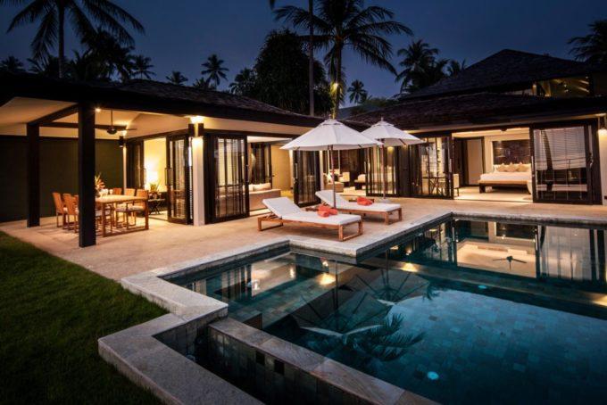 Une des villas disponibles à la location