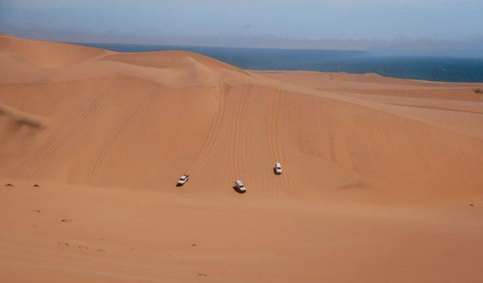Dévaler la dune 45 en 4X4
