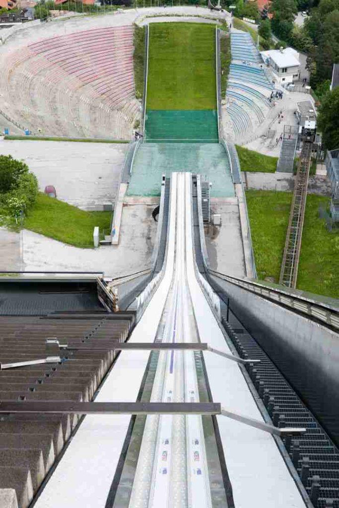 Le sautoir de Innsbruck