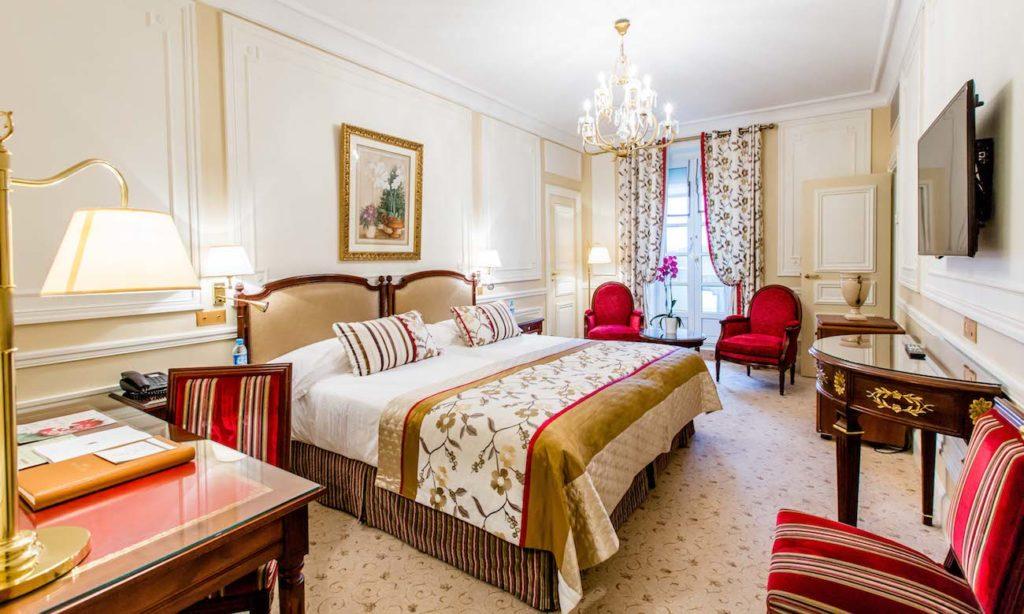 Chambre hôtel du Palais