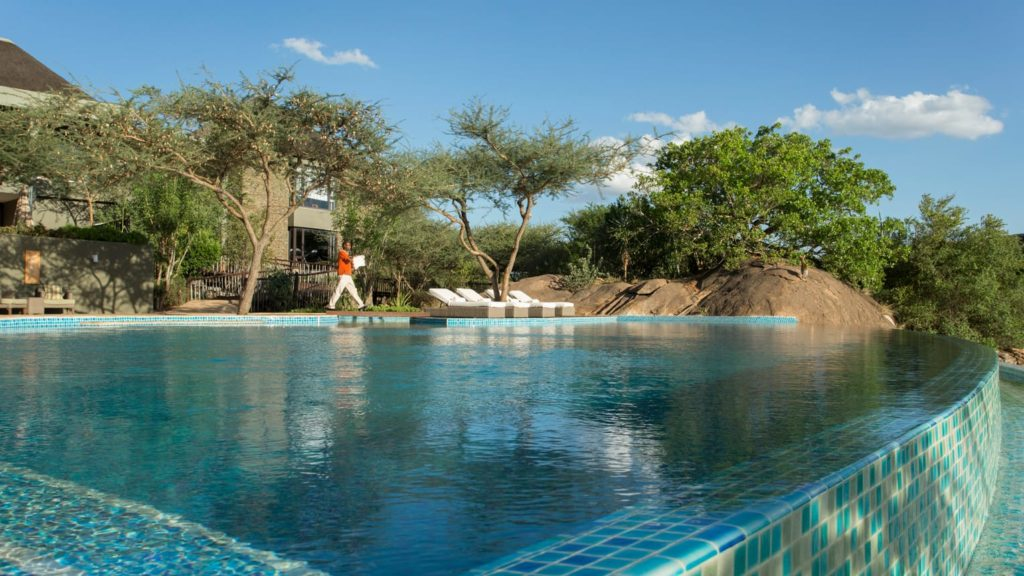 Piscine hôtel Tanzanie
