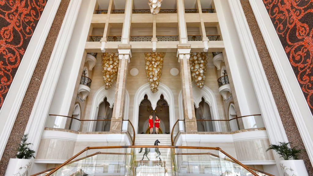 Entrée privée Kempinski Qatar