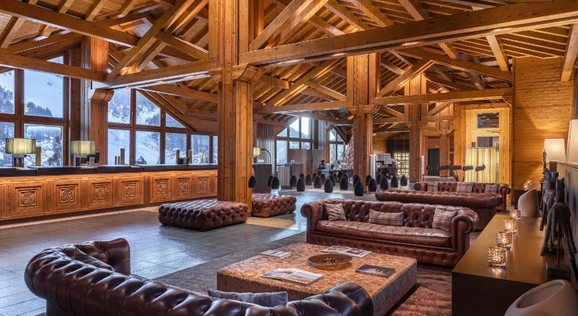 Lobby Hôtel Sport hermitage soldeu Andorre