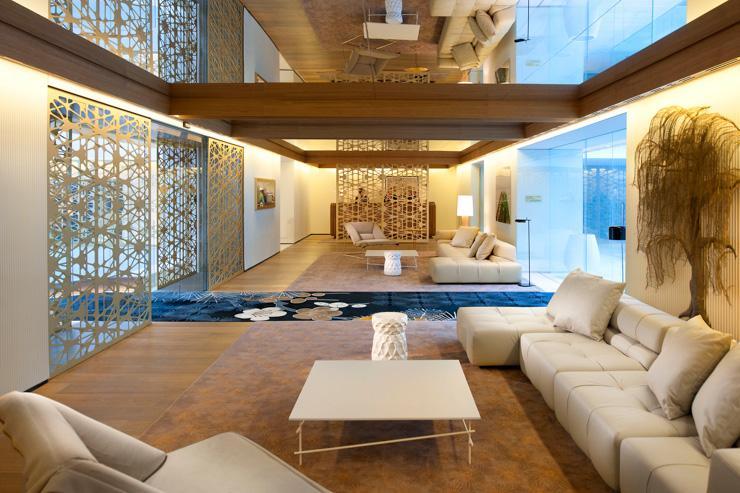 Salon hall d'entrée Mandarin Oriental Barcelone