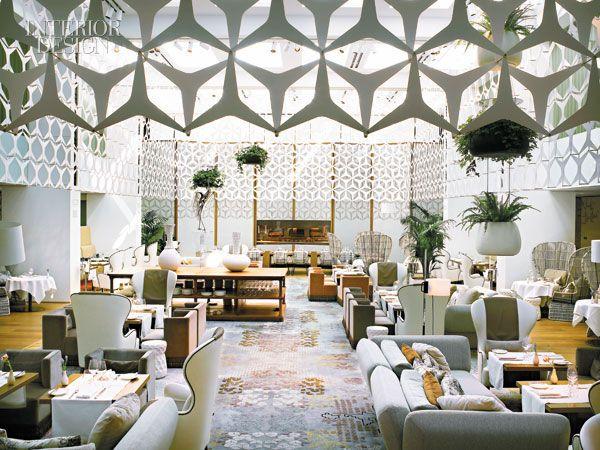 Lobby hôtel Mandarin Oriental Barcelone
