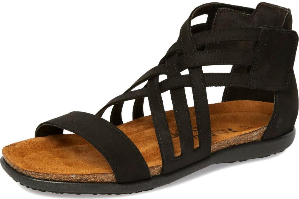 Sandales noires Naot