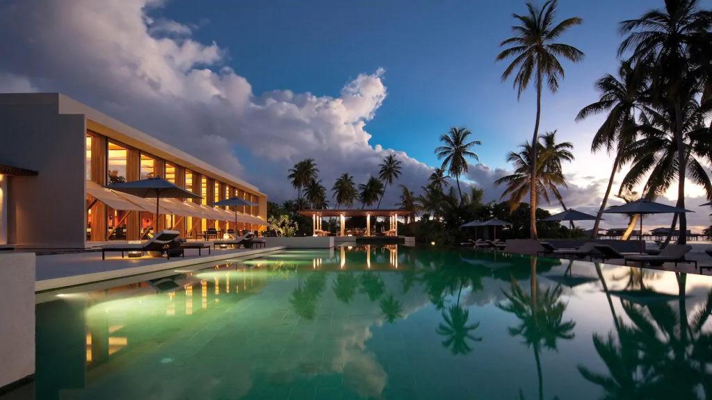 Piscine Park Hyatt Maldives