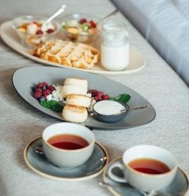 Meilleur petit déjeuner dans les hôtels de luxe