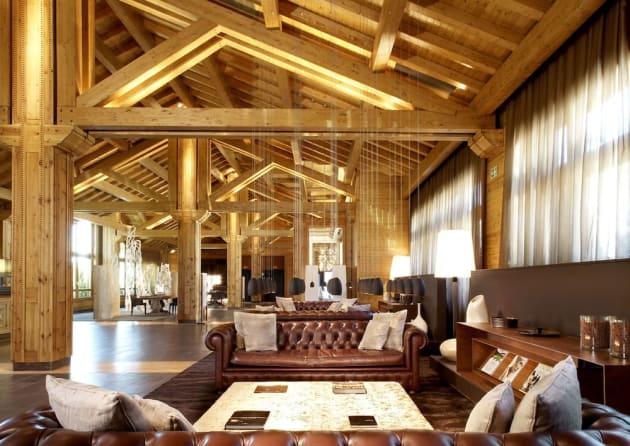 Salon hall d'entrée Sport hôtel Hermitage Soldeu, Andorre