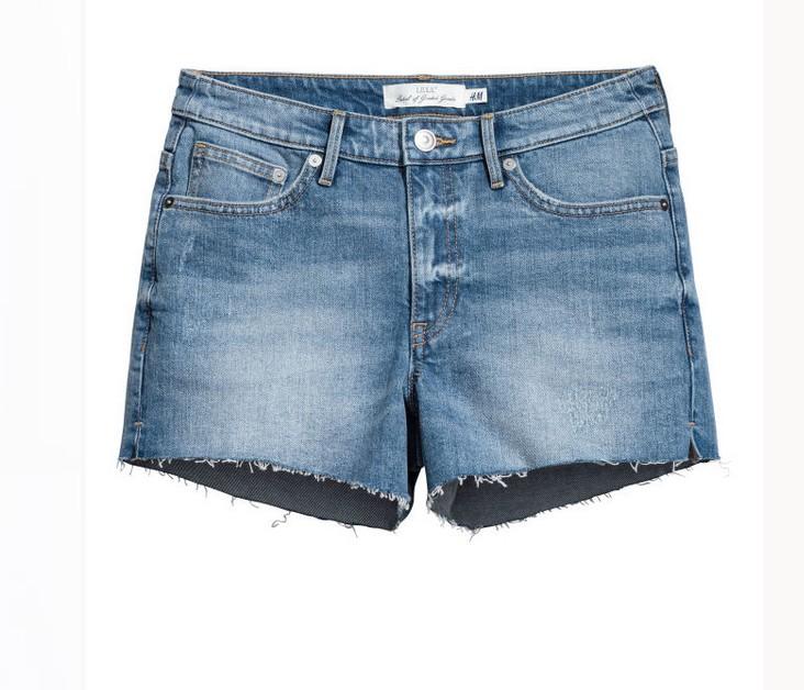 Short en jean H&M 14.99€