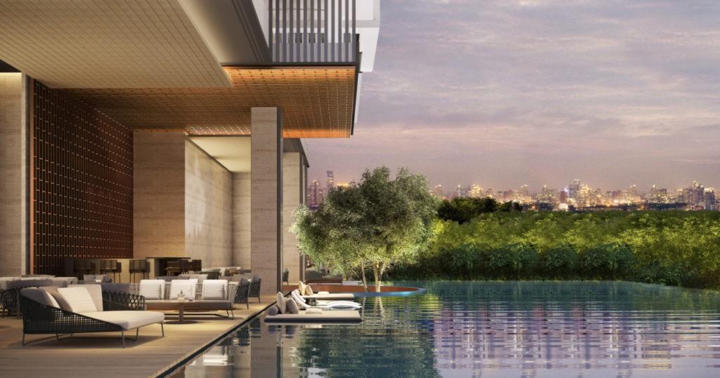 Aman Nai Lert Bangkok piscine