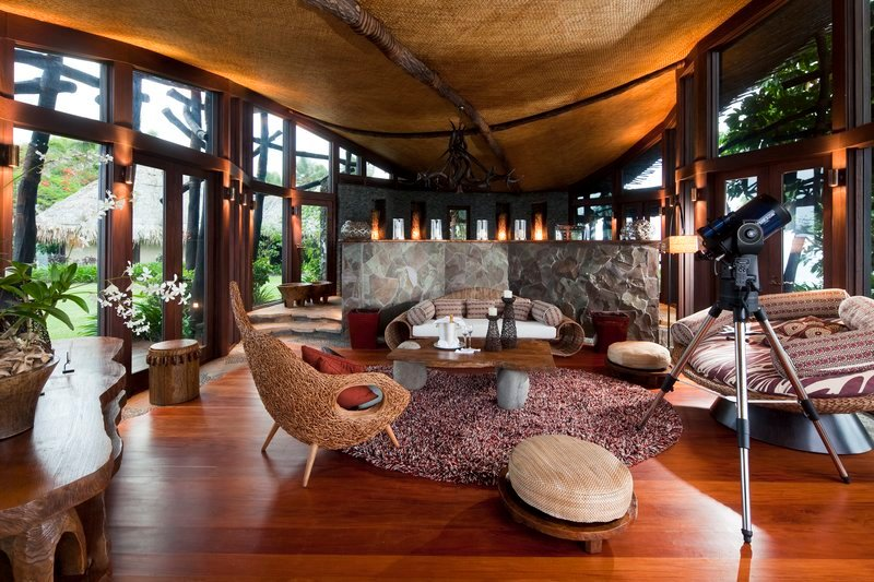 Autre salon villa hilltop