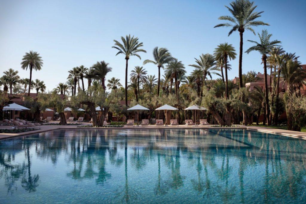 piscine extérieure royal mansour