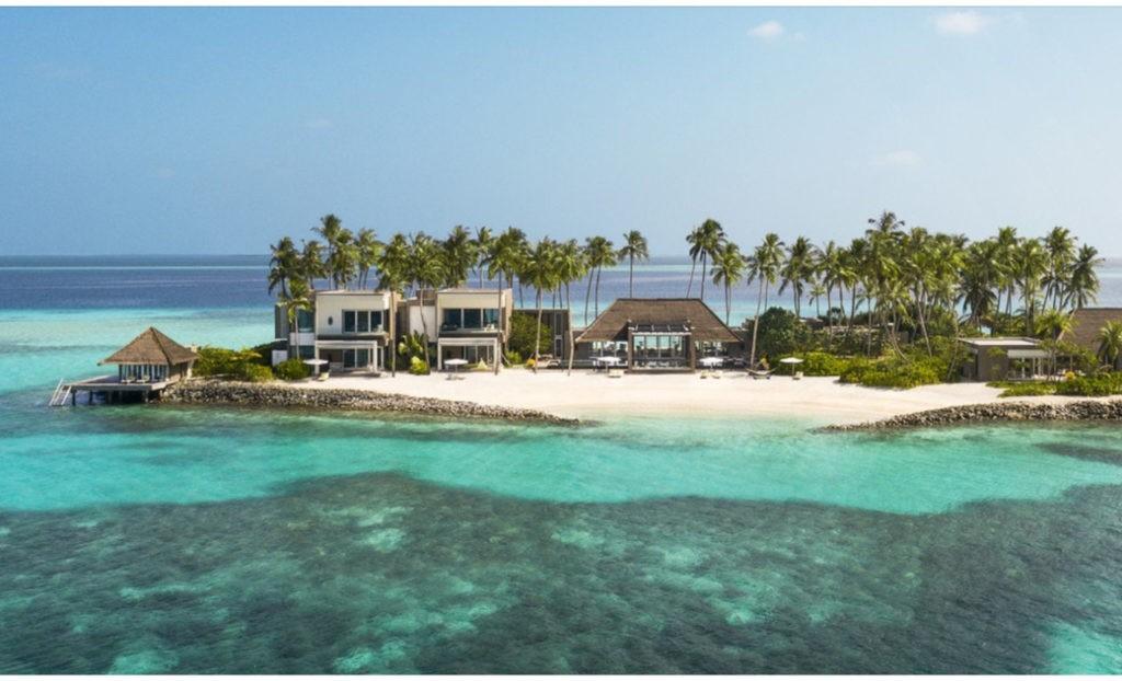 Ile privée Randhéli Maldives