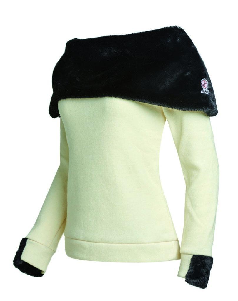 Polo qui tient chaud chez Skidress en velours 139€