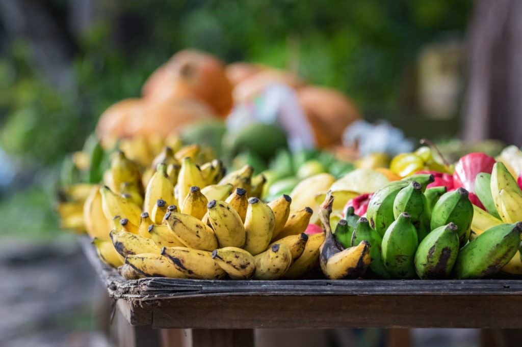 Bananes aux Seychelles