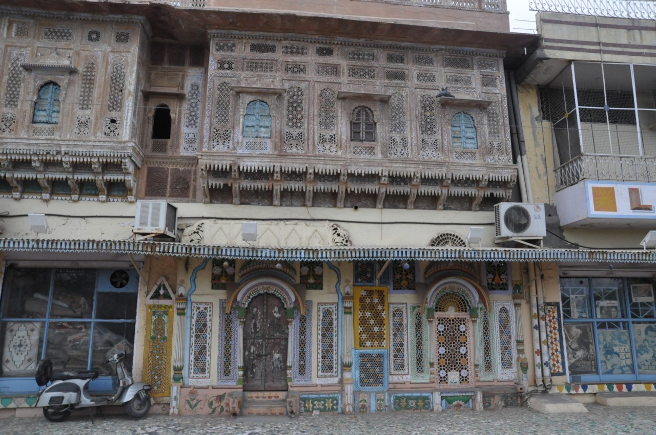Dans le vieux Delhi