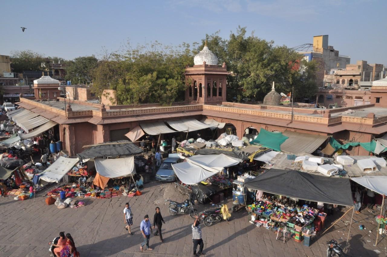 Bazar en Inde