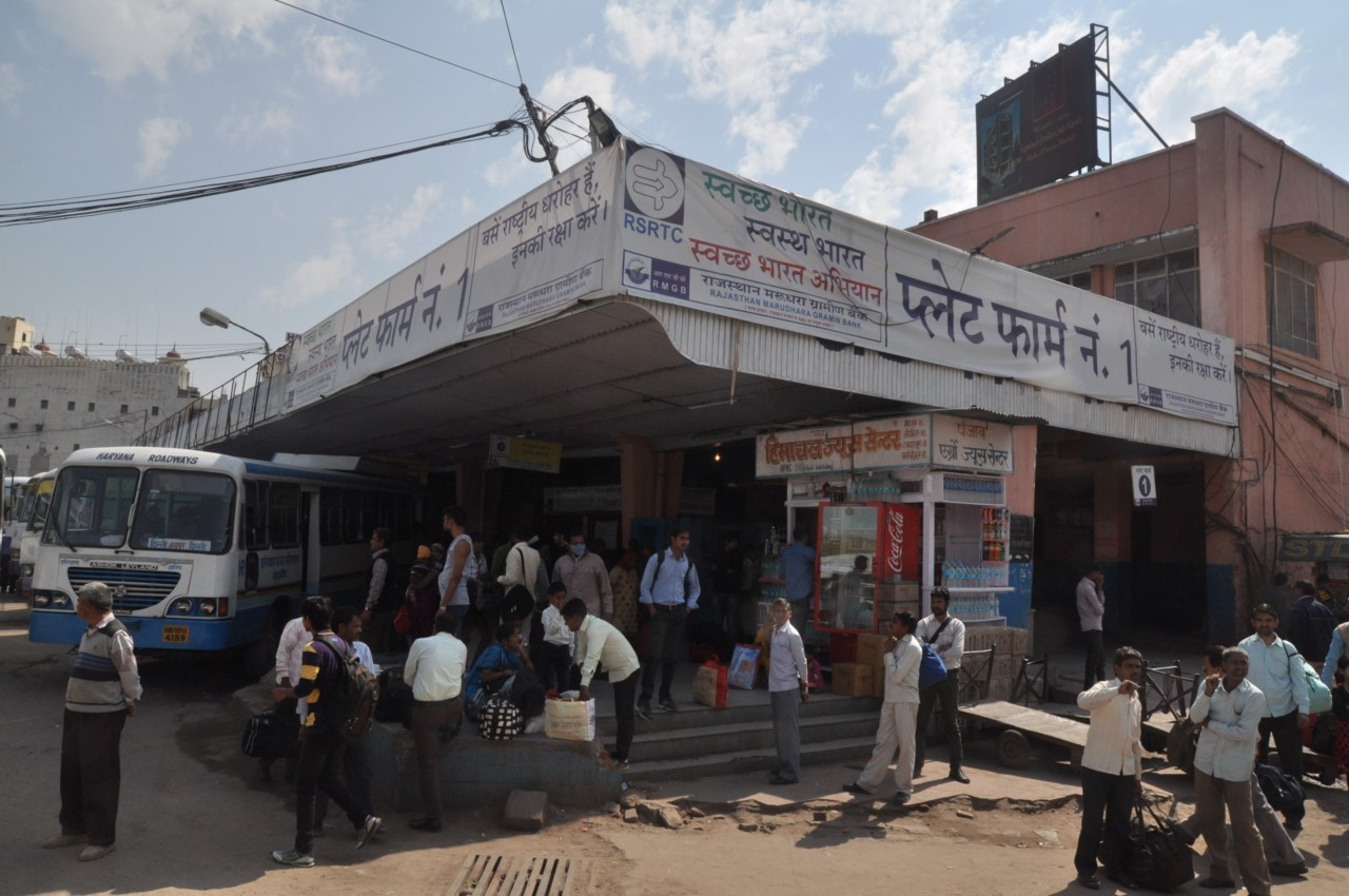 Les rues et les magasins en Inde