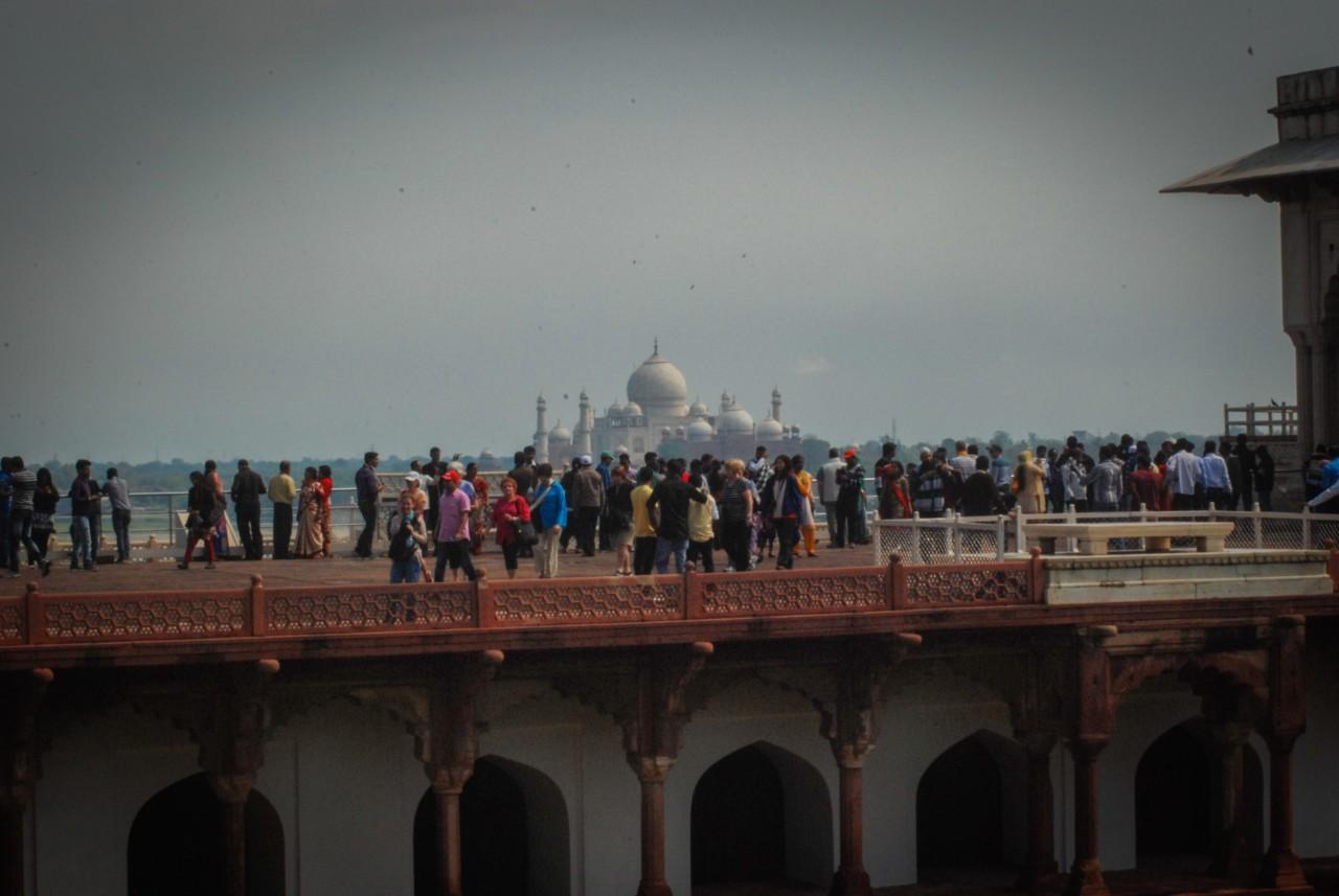 Découvrir le fort d'Agra