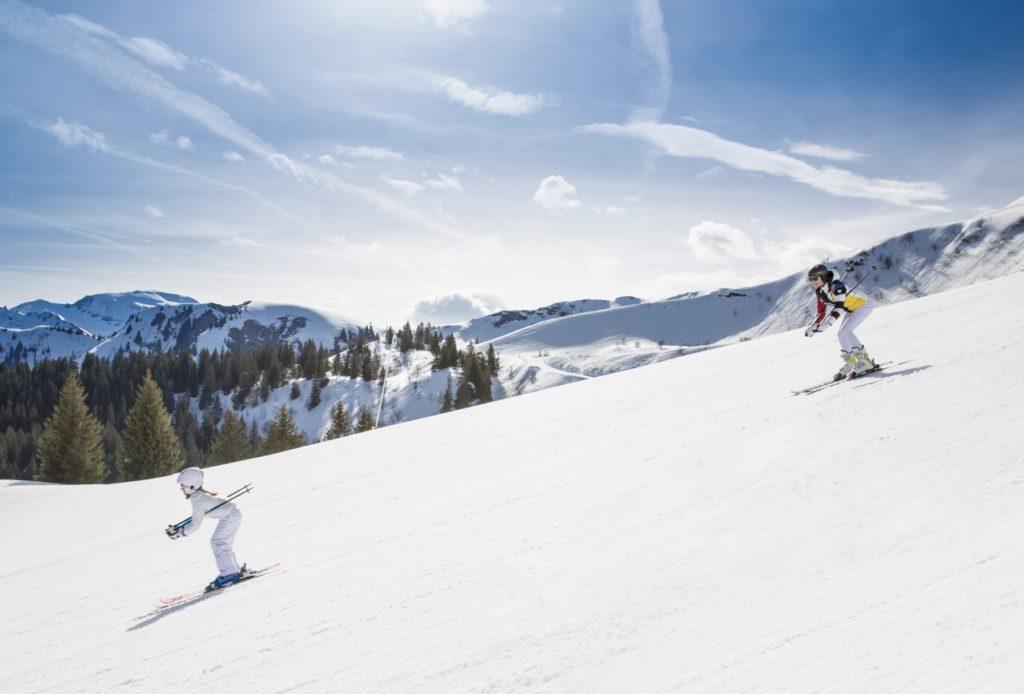 Dévaler les pistes de ski