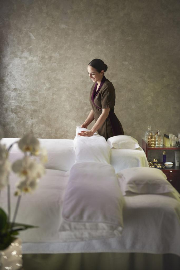 Massage au spa du Mandarin Oriental Paris