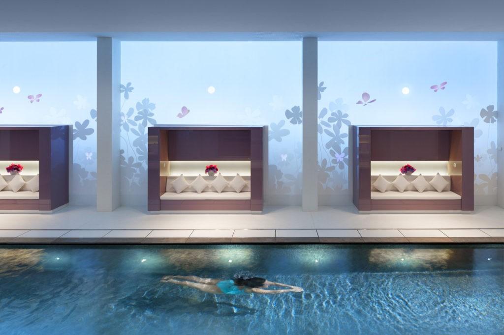 L'espace aquatique du spa Mandarin Oriental Paris