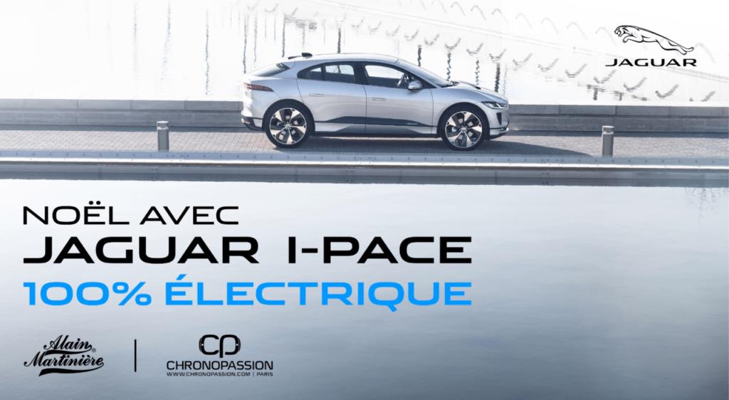 Fêtez Noël avec la Jaguar I-Pace