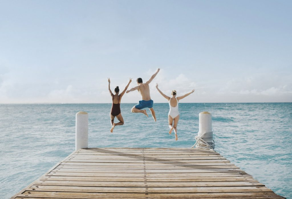 La joie et le bonheur d'être au Club Med