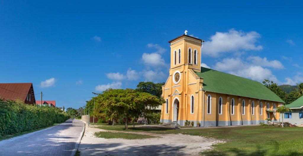Notre Dame de L'Assomption à La Digue, Seychelles