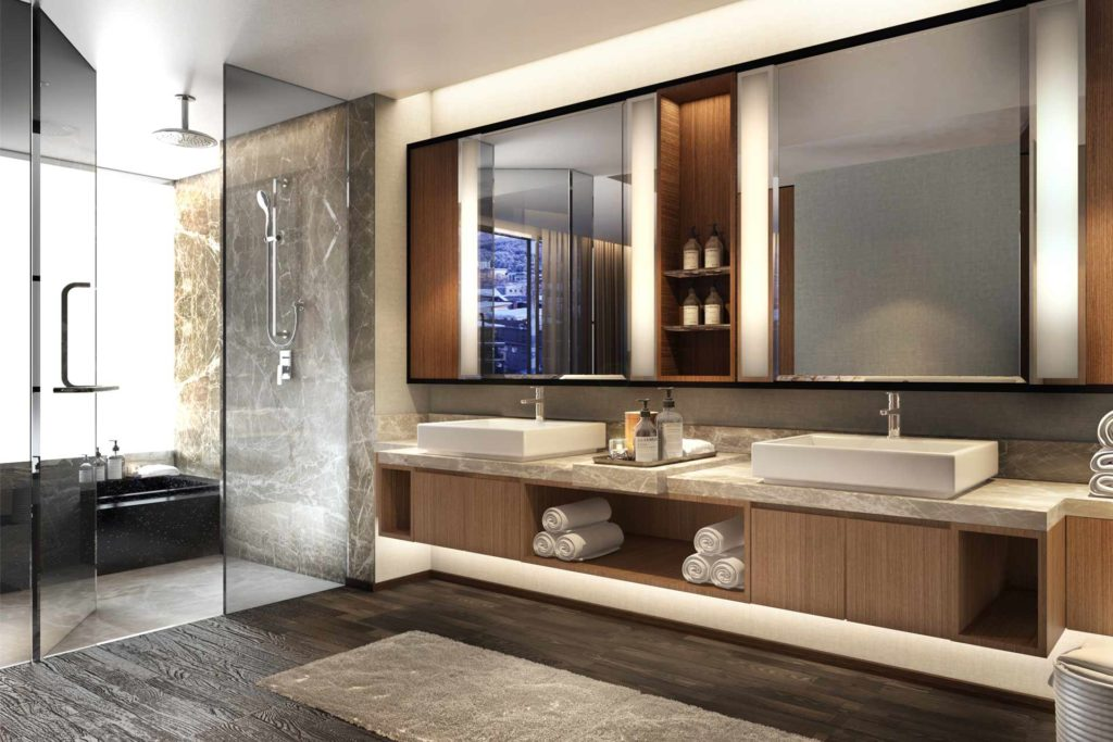 Salle de bain Ritz-Carlton-Japon