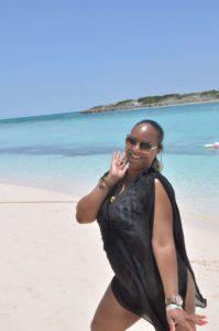 Charmante Bahaméenne