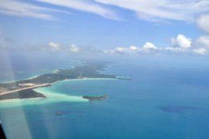 Les Bahamas vue du ciel